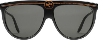 Gucci Aviator acetate sunglasses