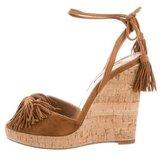 Aquazzura Wild One Wedge Sandals