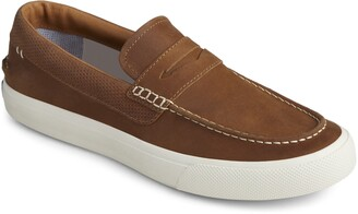 Sperry Striper Plushwave Penny Loafer - Wide Width Available