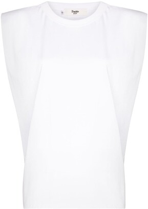 Frankie Shop Eva padded T-shirt