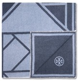 Tory Burch Fret Whipstitch Blanket Scarf