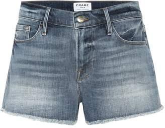 Frame Le Cut Off denim shorts