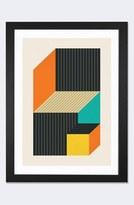 iCanvas 'Cubes Vi' Framed Fine Art Print