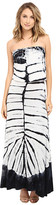 Culture Phit Erin Strapless Tie-Dye Maxi Dress