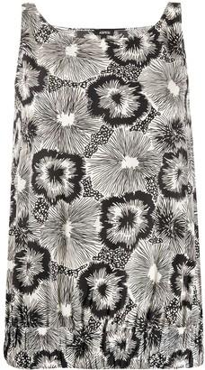 Aspesi Floral Print Blouse