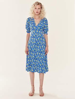 Diane von Furstenberg Jemma Floral Midi Dress