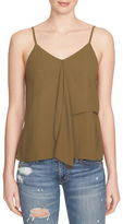 1 STATE V-Neck Ruffled Tank Top