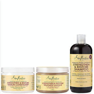 Shea Moisture Jamaican Black Castor Oil Bundle (Worth 38.97)