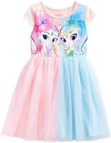 Nickelodeon Shimmer and Shine Colorblocked Tutu Dress, Little Girls