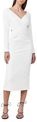 Significant Other Escape Ruched Dress