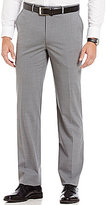 Hart Schaffner Marx New York Modern-Fit Flat-Front Solid Dress Pants