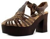 Sbicca Ultana Open Toe Leather Platform Sandal.