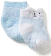 Starting Out Baby Boys 2-Pack Bear Booties