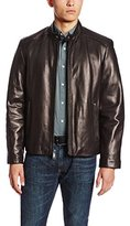 Andrew Marc Men's Sam Smooth Lamb Leather Jacket