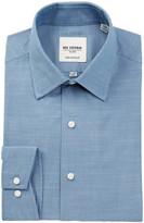 Ben Sherman Tailored Slim Fit Chambray Dress Shirt