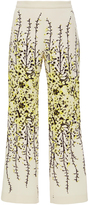Giambattista Valli Flared Floral Trousers