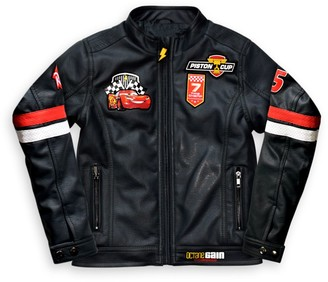 Disney Lightning McQueen Faux Leather Jacket for Boys