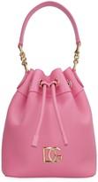 Dolce & Gabbana Millennials Leather Bucket Bag
