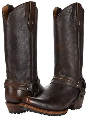 Roper Plain Ole Harness Lug (Brush-Off) Cowboy Boots