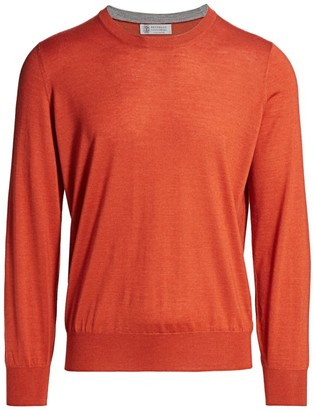 Brunello Cucinelli Tonal Crew Sweater