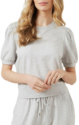French Connection Puff Sleeve Sweat