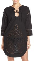 Seafolly Women's Embroidered Cover-Up Tunic