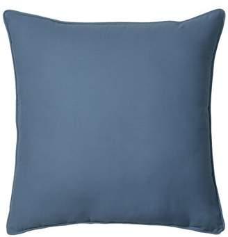 Izod Chambray Stripe Euro Throw Pillow