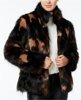 Wildflower Faux-Fur Coat, Only at Macy's