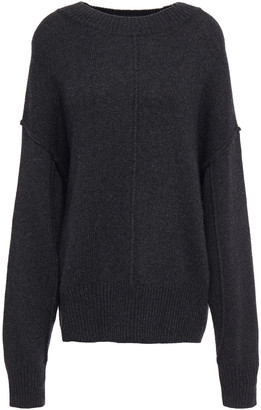 Autumn Cashmere Melange Knitted Sweater