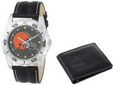 "Game Time Men's NFL-WWS-CLE ""Watch & Wallet"" Watch - Cleveland Browns"