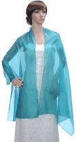 Remedios Sheer Bridal Shawl Wrap Scarf Evening Dress Stole Korea Tulle