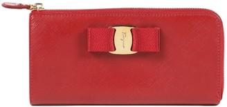 Salvatore Ferragamo Red Leather Wallets