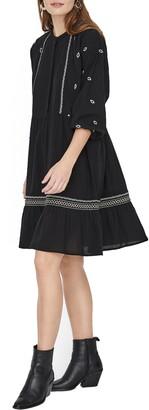 Vero Moda Santorini Boho Long Sleeve Tunic Dress