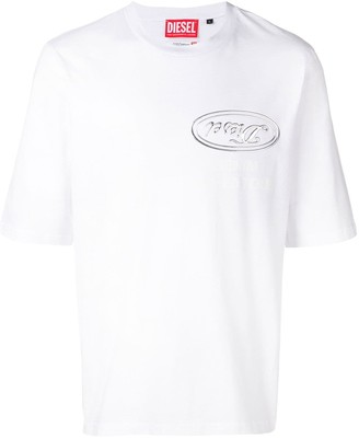 Diesel Red Tag RED TAG X SHAYNE OLIVER losse fitted T-shirt