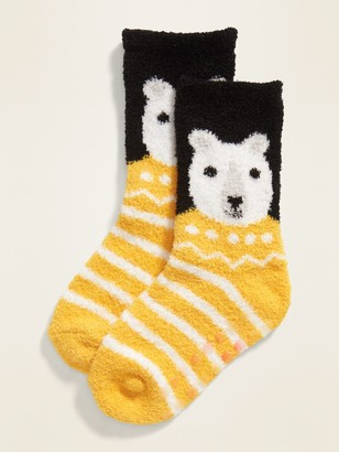 Old Navy Patterned Cozy Socks for Toddler & Baby