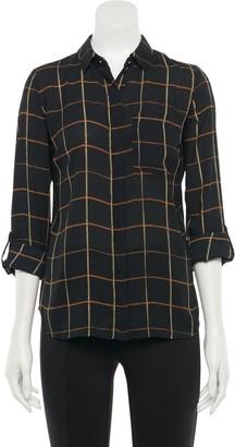 Apt. 9 Women's Long Sleeve Convertible Blouse - Size: XX LARGE