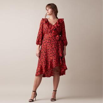 Jason Wu Women's JW Printed High-Low Dress