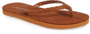 J/Slides Nadia Braided Flip Flop