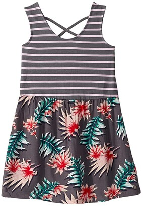 Roxy Kids Feel So Right Dress (Little Kids/Big Kids) (Turbulence Handy) Girl's Clothing