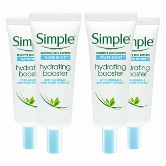 Simple Water Boost Hydrating Booster 4 X 25Ml