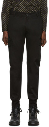 Paul Smith Black Military Jogger Trousers