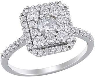 Stella Grace 10k White Gold 1 Carat T.W. Diamond Engagement Ring