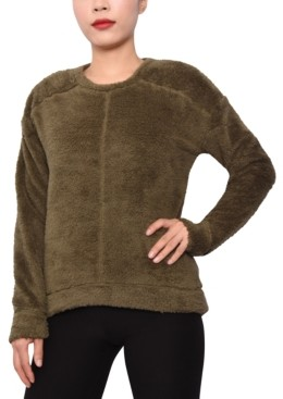 Derek Heart Trendy Plus Size Fuzzy Sweater