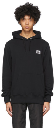 Botter Black Embroidered B Hoodie