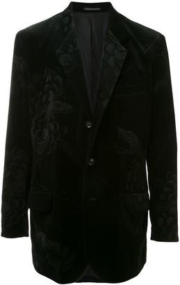 Yohji Yamamoto Snake Grape Razor jacket