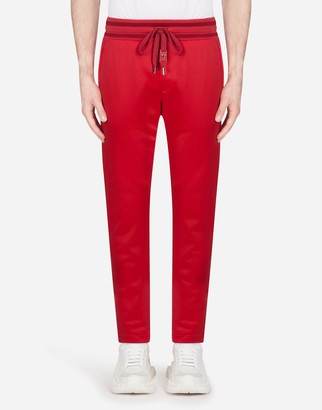 Dolce & Gabbana Jogging Pants With Patch