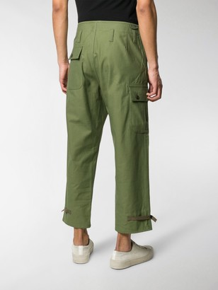 Junya Watanabe Straight-Leg Cotton Trousers