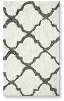 "Threshold Medallion Bath Rug - Gray (20X34"")"