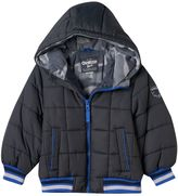 Osh Kosh Toddler Boy Fleece-Lined Heavyweight Gray Puffer Jacket