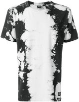 Les (Art)ists short sleeved tie dye T-shirt